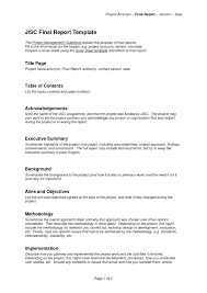 project report front page project report cover page template