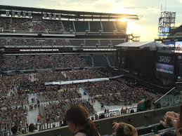 Lincoln Financial Field Seating Chart Rolling Stones Lincoln Financial Field Section C21 Concert Seating