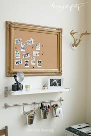 office pinboard. Honey-and-Fitz-Ruth-Eileen-Loft-Office-Pinboard Office Pinboard