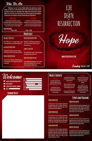 Templates For Church Programs 8 Free Church Bulletin Templates