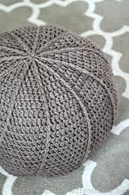 How To Crochet Pouf Ottoman