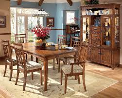 mission oak dining room chairs. signature design by ashley cross island rectangular dining room extension table cheap mission oak chairs