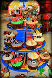 Disney Cars Birthday Cupcakes Romans Birthday Maybe Disney Cars