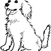 Small Picture Golden Retriever Coloring Sheets Pinterest Printable