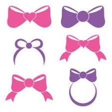 Hot Pink Bow Clip Art Vector Clip Art Online Royalty Free