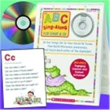 Scholastic Abc Sing Along Flip Chart With Cd Aliexpress