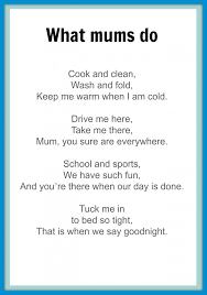 Mothers' Day poems - Kidspot