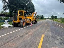 ทช.เร่งซ่อมถนน สายชย.3010ชัยภูมิ ถูกน้ำท่วมซัดขาด