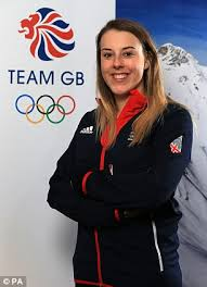 rising star katie summerhayes will be representing brin at the winter olympics this month
