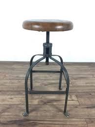 contemporary metal furniture. Contemporary Metal And Wood Bar Stool Furniture