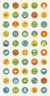 Google Flat Design Icons 10 Awesome Free Flat Icons Packs