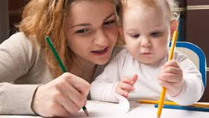 Image result for Free photos of children with parents having learning fun