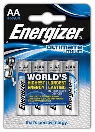 Купить <b>Батарейка Energizer</b> Ultimate <b>Lithium</b> AA 4 шт блистер по ...