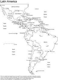 Latin America Printable Blank Map South America Brazil At Blank Map X