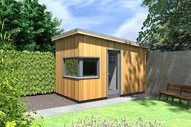 garden office with storage. garden room office with storage