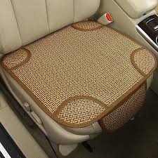 universal breathable car seat pad cane covers front seat cushion for auto car office chairs beige