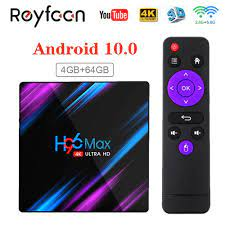 H96 Max Smart TV Box Android 10 RK3318 4GB 64GB USB3.0 1080P
