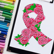 Small Picture Awareness Ribbon Free Coloring Page Sarah Renae Clark