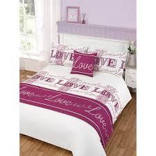 279571 love bed in a bag king duvet