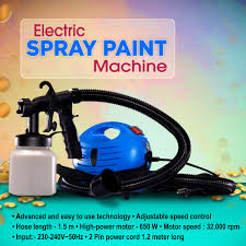 electric spray paint machine at best in india on naaptol com