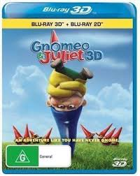 <b>Gnomeo</b> & Juliet 3D & 2D Bluray Region Free ABC <b>New</b> ...