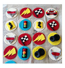Cars Cupcake Toppersholds Up To 24 Cupcakes Tier Cupcake Stand
