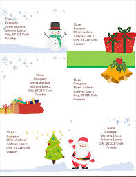 labels 6 per page holiday shipping labels christmas spirit design 6 per page works