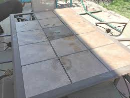 patio table replacement tiles