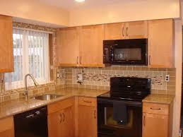 No Backsplash In Kitchen Oven Backsplash 9334
