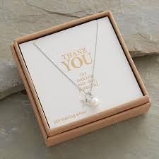 attic jewellery. wedding thank you necklace attic jewellery 0