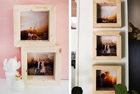 wooden tea light frame