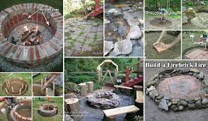 top 31 diy ideas to build a firepit on