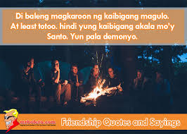 Quotes About Friendship Tagalog Amazing Top 48 Best Tagalog Friendship Quotes And Sayings Mrbolero Mr