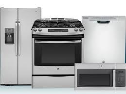 4 Piece Kitchen Appliance Set Kitchen 4 Piece Stainless Steel Kitchen Appliance Package 00020