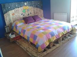 king size pallet bed pallet bed with headboard and nightstands pallet furniture