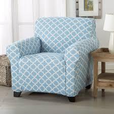 blue chair slipcover. Interesting Chair Blue Chair Brenna Slipcover Inside I