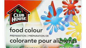 Mccormick Egg Dye Color Chart Food Colour Preparation 4 Vials