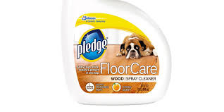 >pledge floorcare wood spray cleaner review