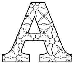To download our free coloring pages, click on the letter of the alphabet you'd like to color. Alphabet Coloring Pages Printable Number And Letter Stencils Patterns Monograms Stencils Diy Projects