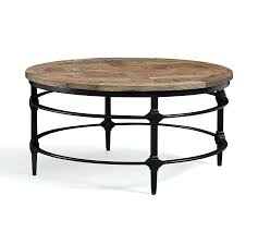 round wood end table legs parquet reclaimed metal coffee