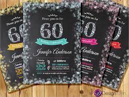 60 birthday invitations 22 60th birthday invitation templates free sample example