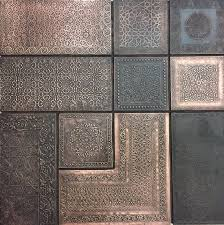 wall panel moroccan combo copper
