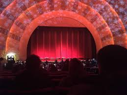 Radio City Music Hall Section Orchestra 5 Row O Seat 504