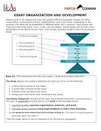 Simple 5 Paragraph Essay Examples Essay Organization And Development Eng 101 English Studocu