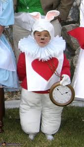 alice in wonderland white rabbit costume diy photo 3