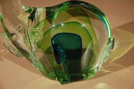 murano glass elephant sculpture