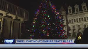 Empire State Plaza Christmas Tree Lighting Nys Holiday Tree Lighting 12 3