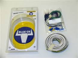 blue ox clear led bulb socket tail light wiring kit