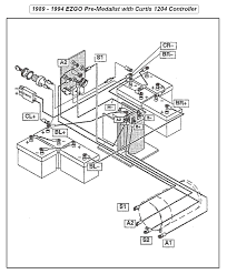 Ezgo golf cart wiring diagram excellent shape battery gas
