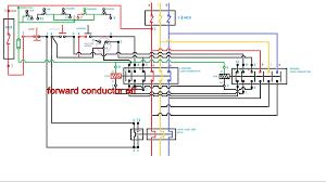forward reverse 3 phase ac motor control wiring diagram inside single phase forward reverse switch at Wiring Diagram For Forward Reverse Single Phase Motor